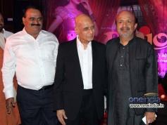 Vishwas Patil, Khayyam and Sameer at Music launch of film Rajjo