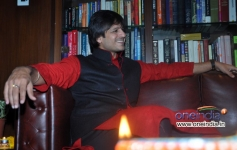 Vivek Oberoi Diwali celebration at residence
