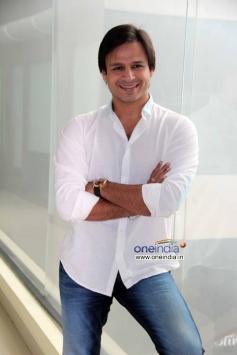 Vivek Oberoi at promotion of TV show Raavi