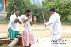 Yogesh, Sharath Lohitashwa in Kannada Movie Matte Satyagraha