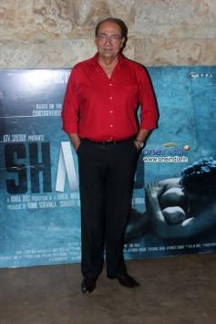 Yusuf Hussain at Special screening of film Shahid