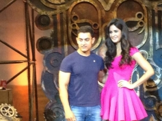 Aamir Khan and Katrina Kaif launch the title song of Dhoom 3