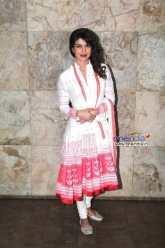 Actress Priyanka Chopra at Special screening of film Ram Leela