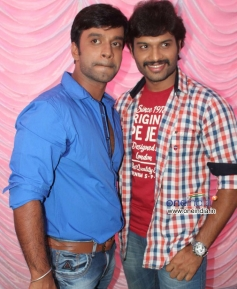 Akshay, Sumanth Shailendra at Bettanagere Film Launch