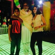 Amitabh Bachchan's granddaughter Aaradhya Bachchan birthday bash 2013