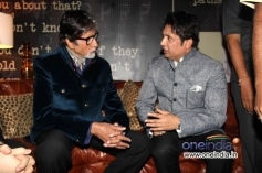 Amitabh Bachchan and Shekhar Suman at the trailer launch of Heartless