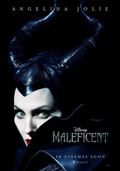 Angelina Jolie's Maleficent poster