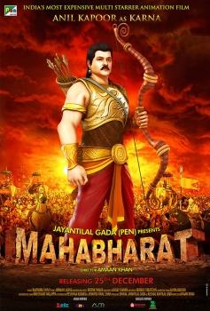Anil Kapoor as Karna - Mahabharat 3D