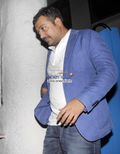 Anurag Kashyap at the Finding Fanny Fernandez completion party