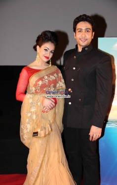 Ariana Ayam and Adhyayan Suman at the trailer launch of Heartless