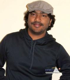 Arjun Janya at Chaddi Dosth Press Meet