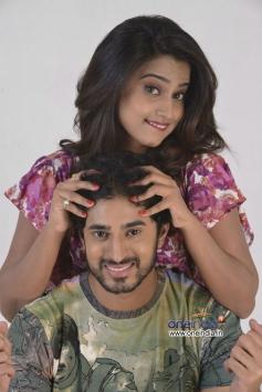 Arvind Krishna, Dimple Chopade still from Biscuit Movie