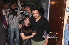Avantika & Imran Khan at Gori Tere Pyaar Mein Special Screening