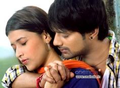 Barbie Chopra and Varun Sandesh in Kannada Movie Ninnale Naanu