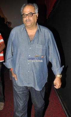 Boney Kapoor arrive at Sholay 3D film trailer launch