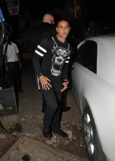 British rapper Jay Sean seen with Priyanka Chopra at Mumbai