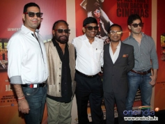 Celebs during the Sholay 3D film trailer launch