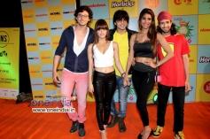 Celebs at Nickelodeon Kids Choice Awards 2013