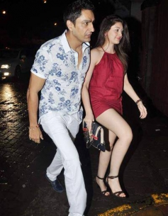 Celebs snapped at Jay Sean's private dinner