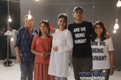 Celebs at the music video shoot of film Lakshmi