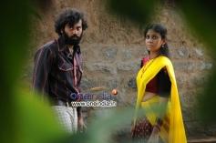 Chaitanya Krishna and Chandini still from Kalicharan Movie
