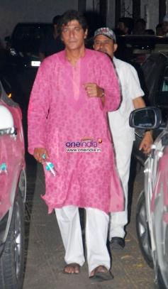 Chunkey Pandey at Sohail Khan Diwali Bash 2013