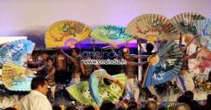 Dancers perform during 19th Kolkata International Film Festival