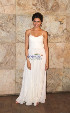 Deepika Padukone arrive at Special screening of film Ram Leela