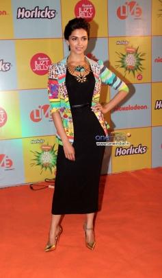 Deepika Padukone during the Nickelodeon Kids Choice Awards 2013