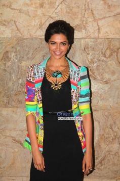 Deepika Padukone during the Special screening of film Ram Leela