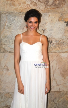 Deepika Padukone poses at Special screening of film Ram Leela