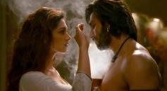 Deepika Padukone and Ranveer Singh still from film Ram Leela