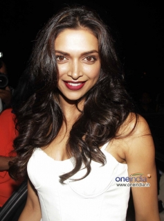 Deepika Padukone snapped at the Finding Fanny Fernandez completion party