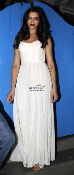 Deepika Padukone at the Finding Fanny Fernandez completion party