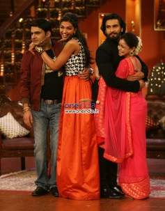 Deepika and Ranveer promote Ram Leela on Comedy Nights with Kapil