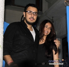 Dinesh Vijan and Ileana Dcruz at the Finding Fanny Fernandez completion party