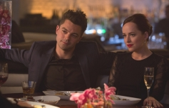 Dominic Cooper and Dakota Johnson still from film Need for Speed