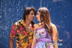 Duniya Vijay and Parul Yadav in Kannada Movie Shivajinagara