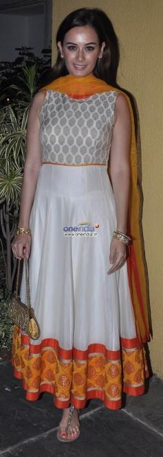 Evelyn Sharma at Sachiin Joshi & Urvashi Sharma's Diwali Bash 2013