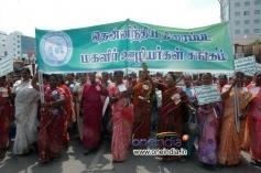 FEFSI Procession to Meet Hon'ble CM