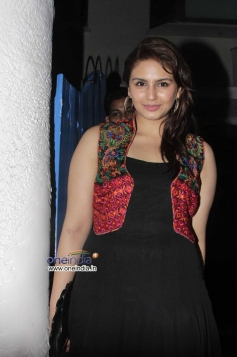 Huma Qureshi during the wrap up party of film Finding Fanny Fernandez