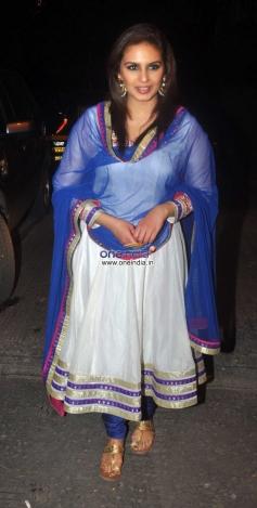 Huma Qureshi at Ekta Kapoor's Diwali Bash 2013