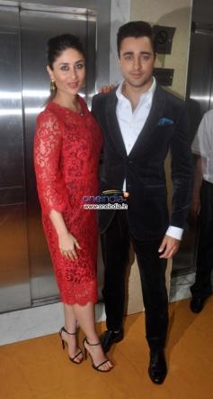 Imran Khan and Kareena Kapoor during the promotion of their film Gori Tere Pyar Mein