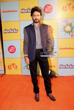 Irrfan Khan during the Nickelodeon Kids Choice Awards 2013
