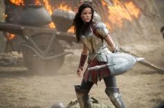 Jaimie Alexander still from film Thor The Dark World