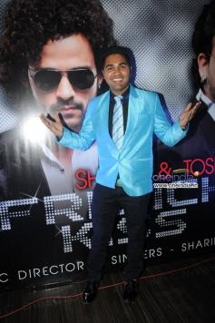 Jaswant Singh Rathore at French Kiss music album