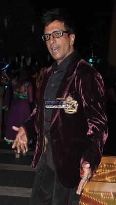 Javed Jaffrey at Sachiin Joshi & Urvashi Sharma's Diwali Bash 2013