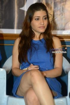 Kainaz Motivala at Bhoochamma Boochodu Movie Logo Launch Event
