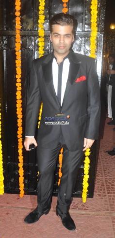 Karan Johar at Ekta Kapoor's Diwali Bash 2013