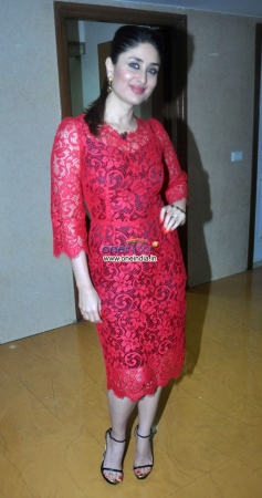 Kareena Kapoor promotes her film Gori Tere Pyar Mein on sets of KBC 7